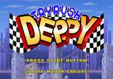 Tryrush Deppy SEGA Saturn Title screen