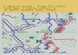 NATO Commander Atari 8-bit Warsaw Pact forces are breaking through from the CSSR. Units from the Netherlands, Belgium and France move into the gap. US, West German and British divisions trying to hold the rest of the front.