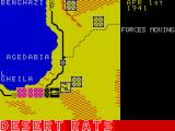Desert Rats: The North Africa Campaign ZX Spectrum ... then moves the units, both its own and the players,  ....