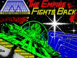 The Empire Fights Back ZX Spectrum This screen displays as the game loads - but only briefly