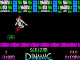 Sgrizam ZX Spectrum Of course he can jump over the low ones just as he can duck under anything that's flying