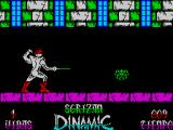 Sgrizam ZX Spectrum I did not find the sword useful against this kind of enemy but it could be that my timing is lousy