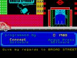 Paul McCartney's Give My Regards to Broad Street ZX Spectrum The game's title screen displays as the game loads
