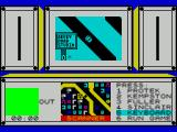 Paul McCartney's Give My Regards to Broad Street ZX Spectrum This is the main game screen. Here, before the game starts, its being used for controller selection