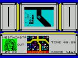 Paul McCartney's Give My Regards to Broad Street ZX Spectrum The next part of the game is spent driving around London.  'A' accelerates the car, 'Z' stops it, and 'N' & 'M' steer it. The player must stay on the road as they search for band members