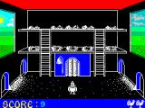 Chicken Chase ZX Spectrum He obviously did something right because his score increased while he was in there