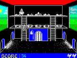 Chicken Chase ZX Spectrum In comes a hedgehog to steal the egg