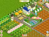 Farm Story iPad Zooming in on a high-level, prosperous farm