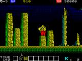 Karnov ZX Spectrum The baddie has been dispatched and the bomb power up has been collected