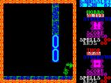 Dawnssley ZX Spectrum Through the door and straight into a demon