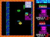 Dawnssley ZX Spectrum There are more monsters but let's just get to the exit. At the end of the level there's no summary of stats such as points scored, demons killed, etc. Nor is there an apparent save point.