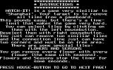 Match It Atari ST Instructions