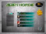 Alien Horde Windows Main menu/title screen