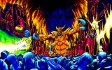 Alantia: Legend of Blue Star PC-98 Demons attack