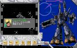 Chō Jikū Yōsai Macross: Remember Me PC-98 Roy Fokker is talking before the mission