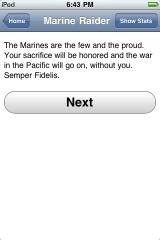 Marine Raider iPhone You chose wrong, sir!