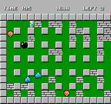 Bomberman NES Gameplay