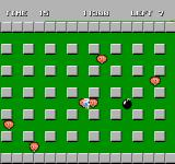Bomberman NES In a bonus stage, you are invincible