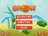 Grow Android Main menu
