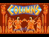 Columns FM Towns Title screen