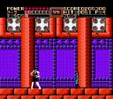 Fist of the North Star NES At the end of level 6 a woman comes in. Who is she? What does she want? We'll never know. (Japanese version)