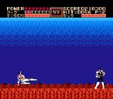 Fist of the North Star NES A fight with the demon (Japanese version)