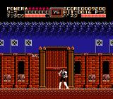 Fist of the North Star NES In the Japanese version, defeated enemies leave hieroglyphs instead of stars (look at the 3rd flag from the left