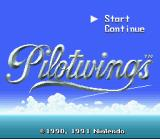 Pilotwings SNES Title Screen (normal mode)