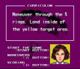 Pilotwings SNES A typical mission objective, explained by flight instructor Shirley