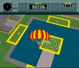 Pilotwings SNES Skydiving part 3: Use the parachute to land on the target