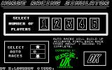 Horse Racing Simulator Atari ST Title screen