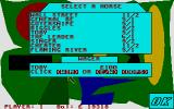 Horse Racing Simulator Atari ST Time to place a bet