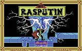 Rasputin Commodore 64 Title Screen