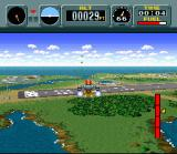 Pilotwings SNES Flying around with the rocketbelt