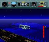 Pilotwings SNES Light Plane part 2: You need to fly underneath the arch in the background