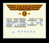 Pilotwings SNES When you do score enough points you advance to the next lesson and receive a password. You can't save your game in between missions