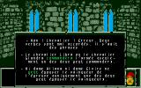 Le Labyrinthe d'Errare Atari ST Explanations in case of an error.