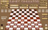 Dames Simulator Atari ST The game is on