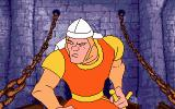Dragon's Lair Atari ST Every scene starts with this animation of Dirk