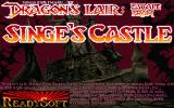 Dragon's Lair: Escape from Singe's Castle Atari ST Title screen