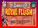 Royal Flush DOS Title screen