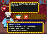 "South Park: Chef's Luv Shack Windows A typical question in the ""lesbian role models"" category."