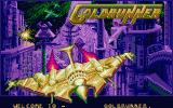 Goldrunner Atari ST Title screen