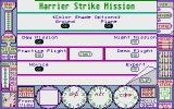 Harrier Strike Mission Atari ST Options