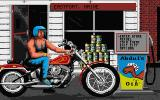 Harley-Davidson: The Road to Sturgis Atari ST Outside the shop