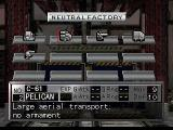 Nectaris: Military Madness  PlayStation Inspecting a factory