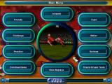 Kick Off 97 DOS Main menu