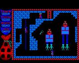 Camelot BBC Micro One of the first screens, my eyes on the key