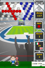 Puzzle Soccer iPhone England level (easy)