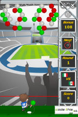 Puzzle Soccer iPhone Mexico Level (easy)